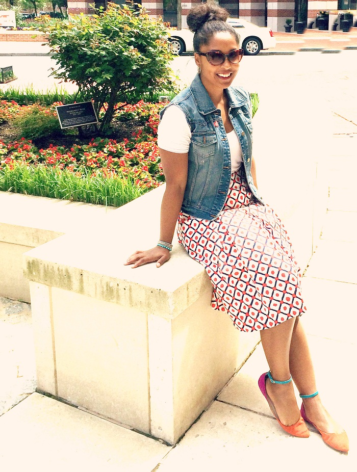 dc street style2 - Thrifted Skirts