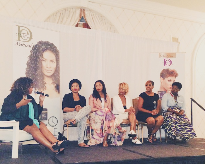 Curls and Conversations Panel in DC- Comme Coco