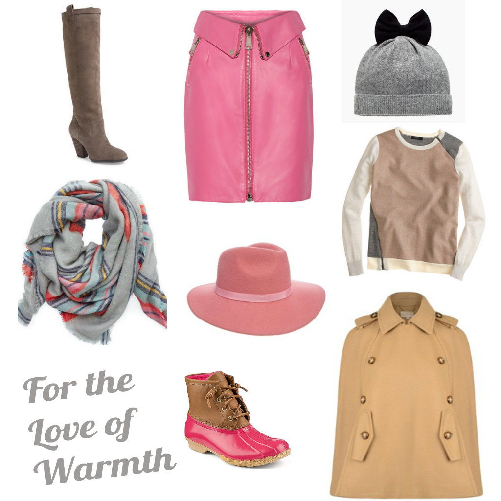 winter collage - Keeping Stylish this Winter