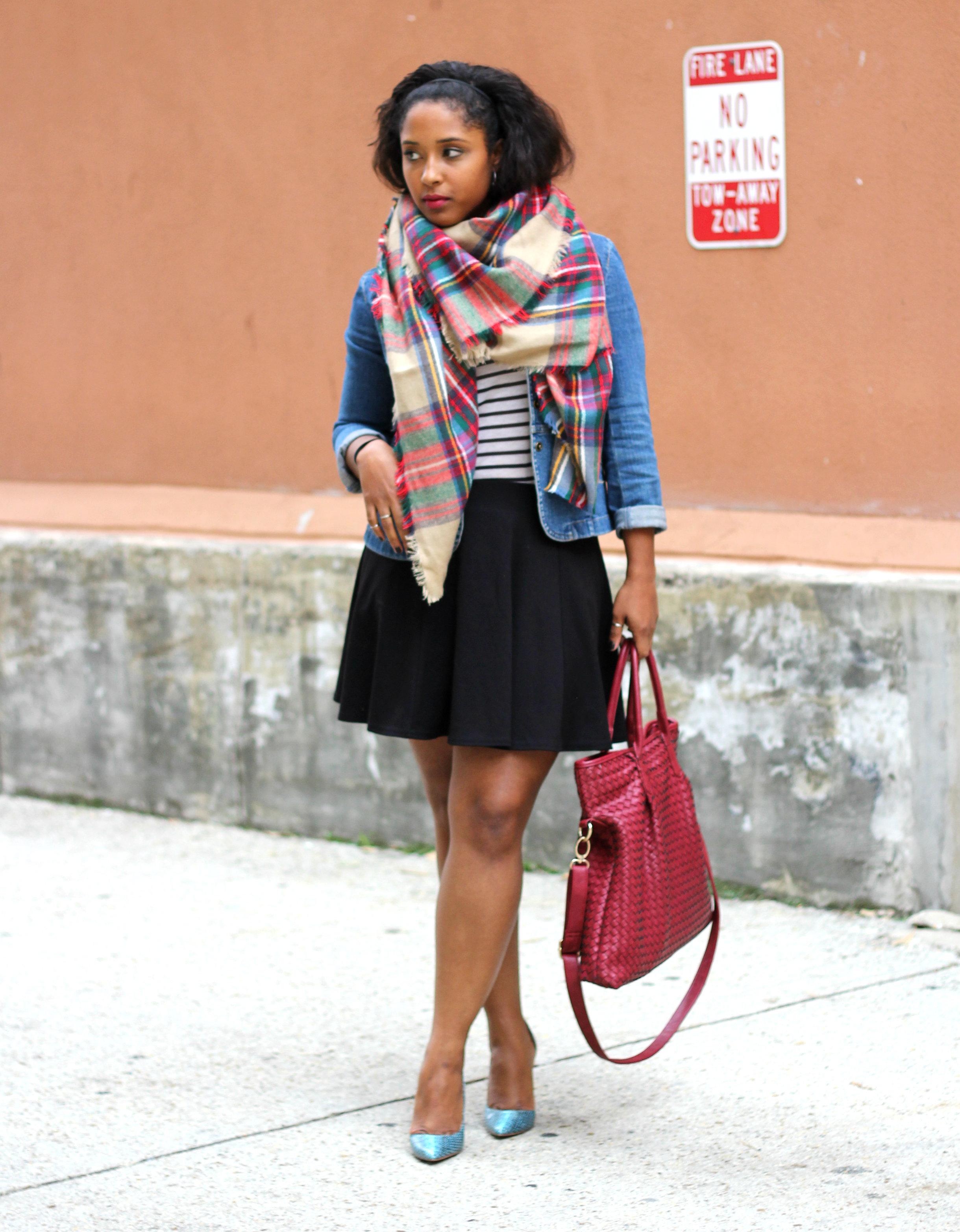 ways to wear a blanket scarf - Blanket Scarves