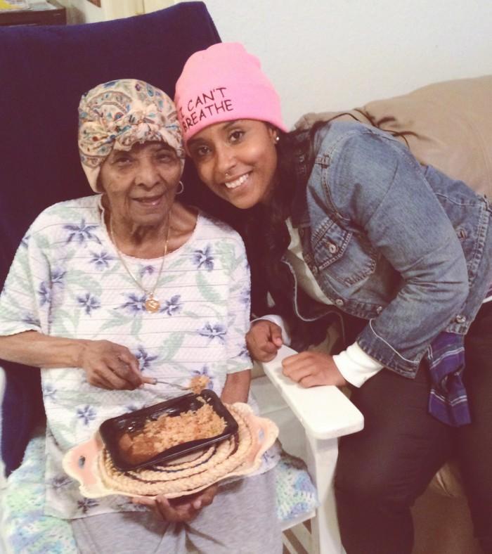 comme coco and grandma
