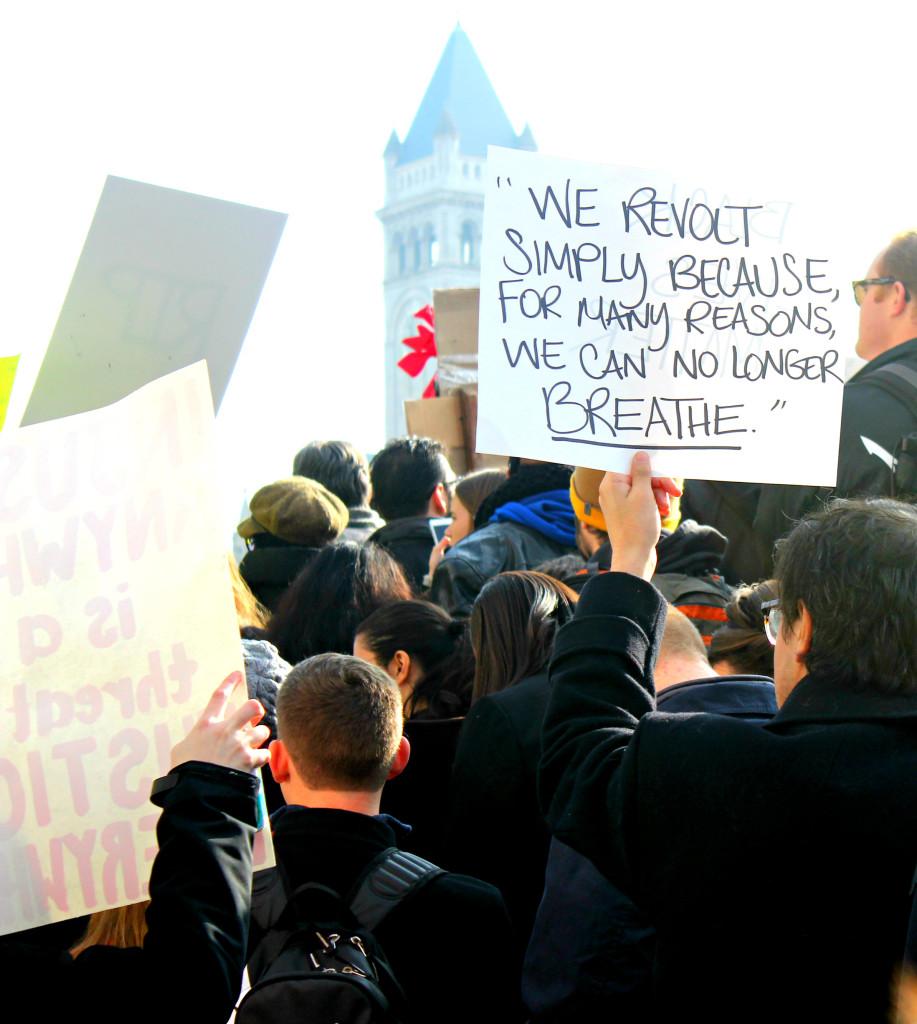 DC Protest- commecoco