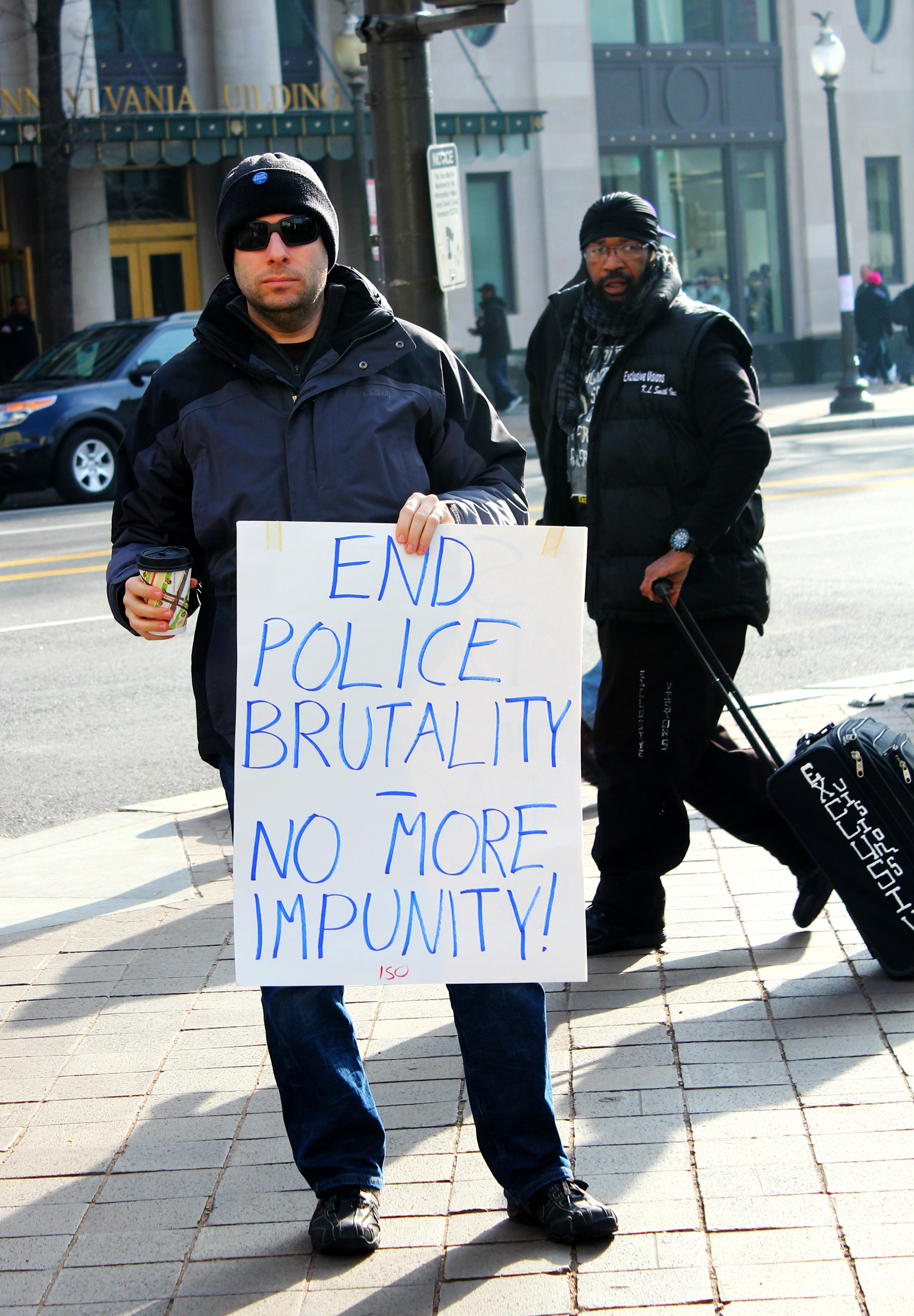 end police brutality - March Against Police Brutality in DC