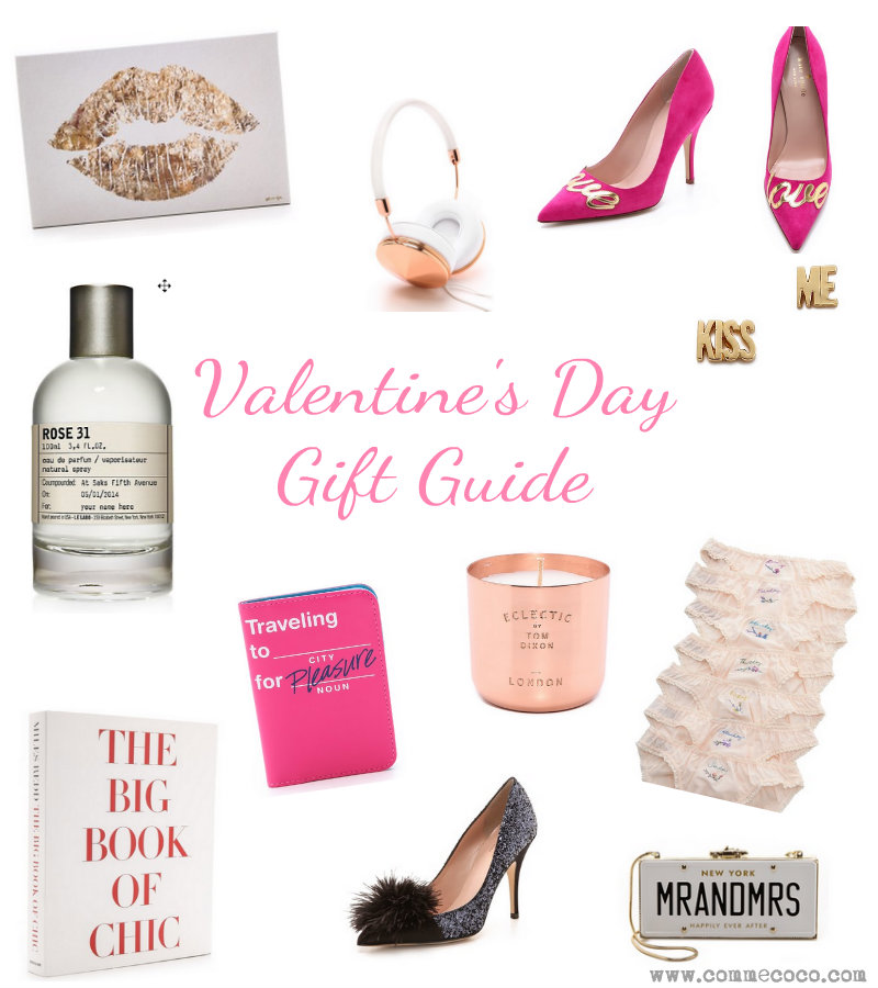 vday gift guide cc - Valentine's Day Gift Guide