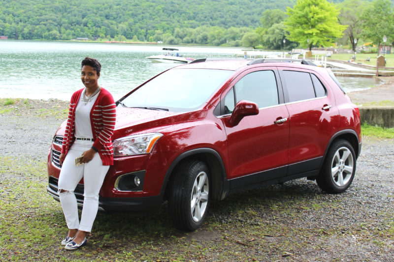 top baltimore blogger in the chevrolet trax