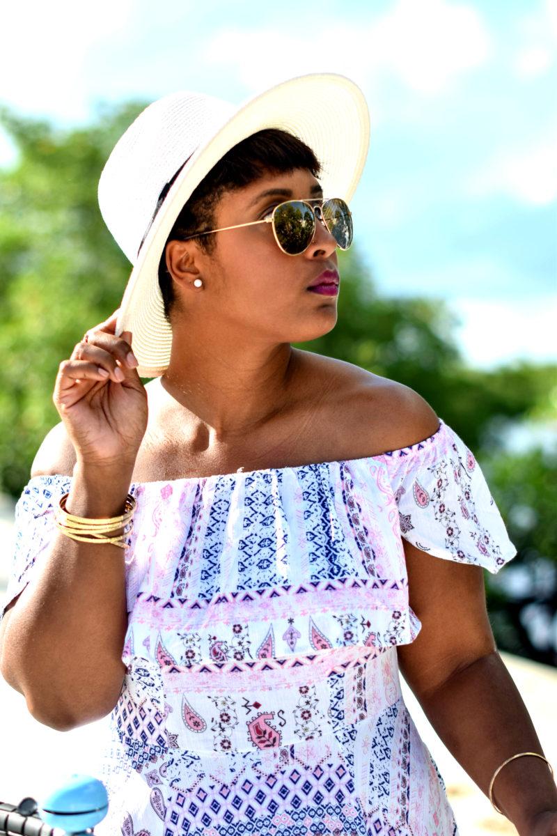 haitian fashion blogger