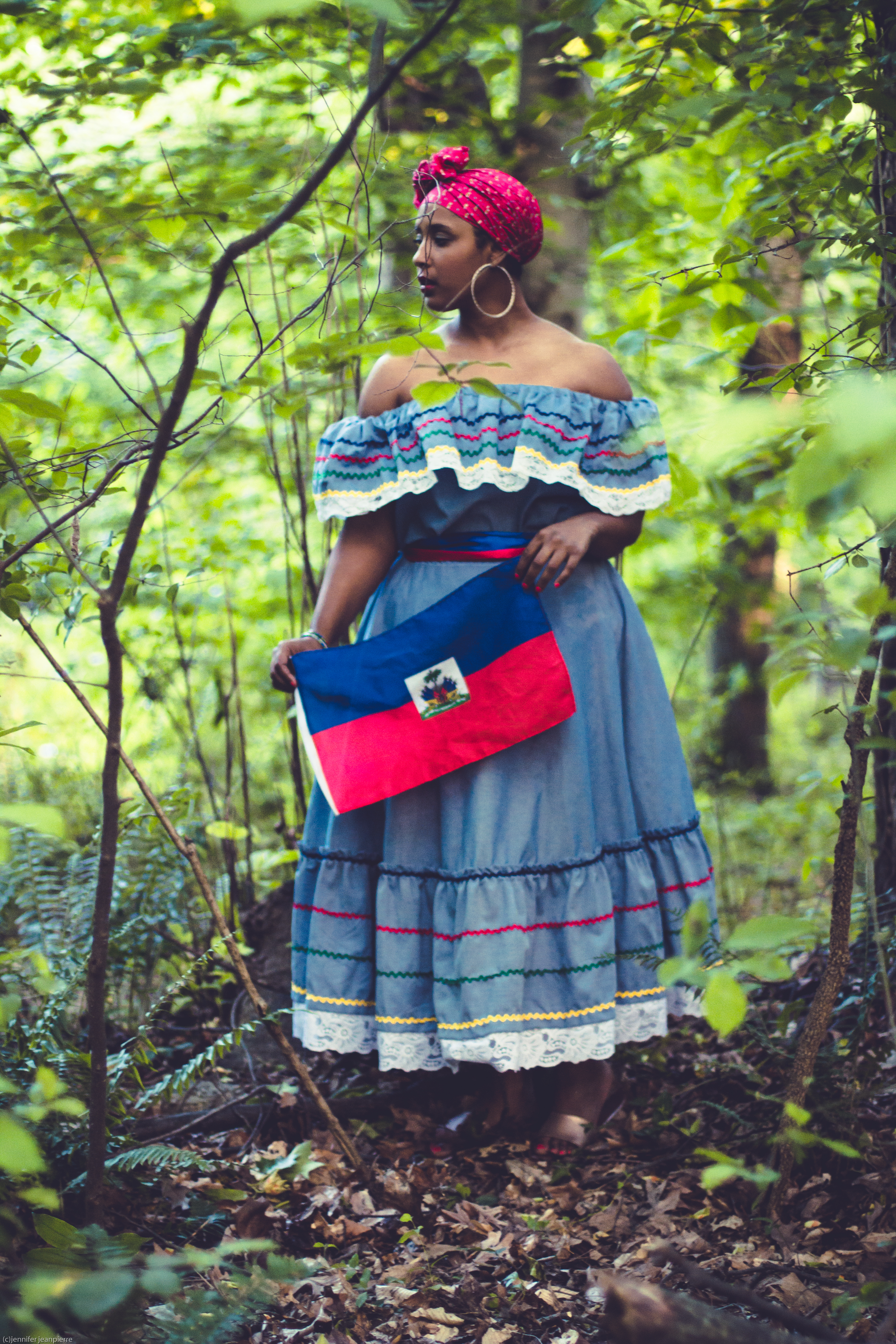haitian flag day by comme coco 16 - Traditional Haitian Dress