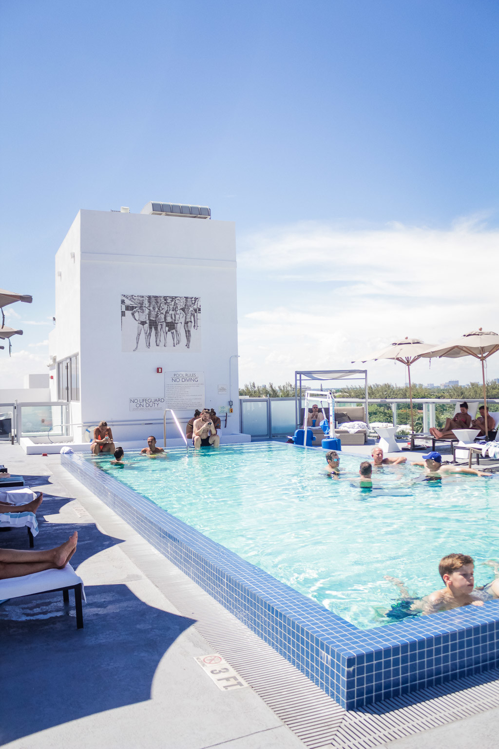 the pool at the ac hotel miami beach