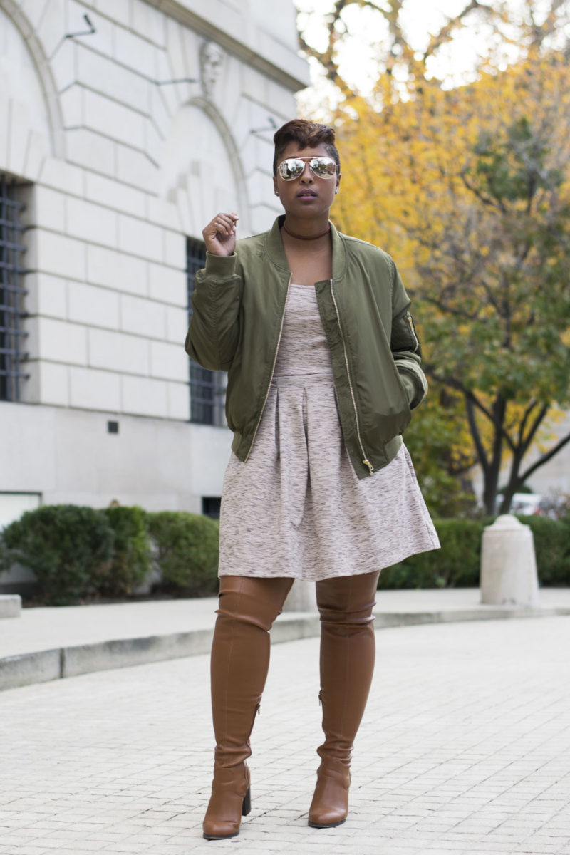 top fall trends bomber jacket 800x1200 - How to Style a Bomber Jacket