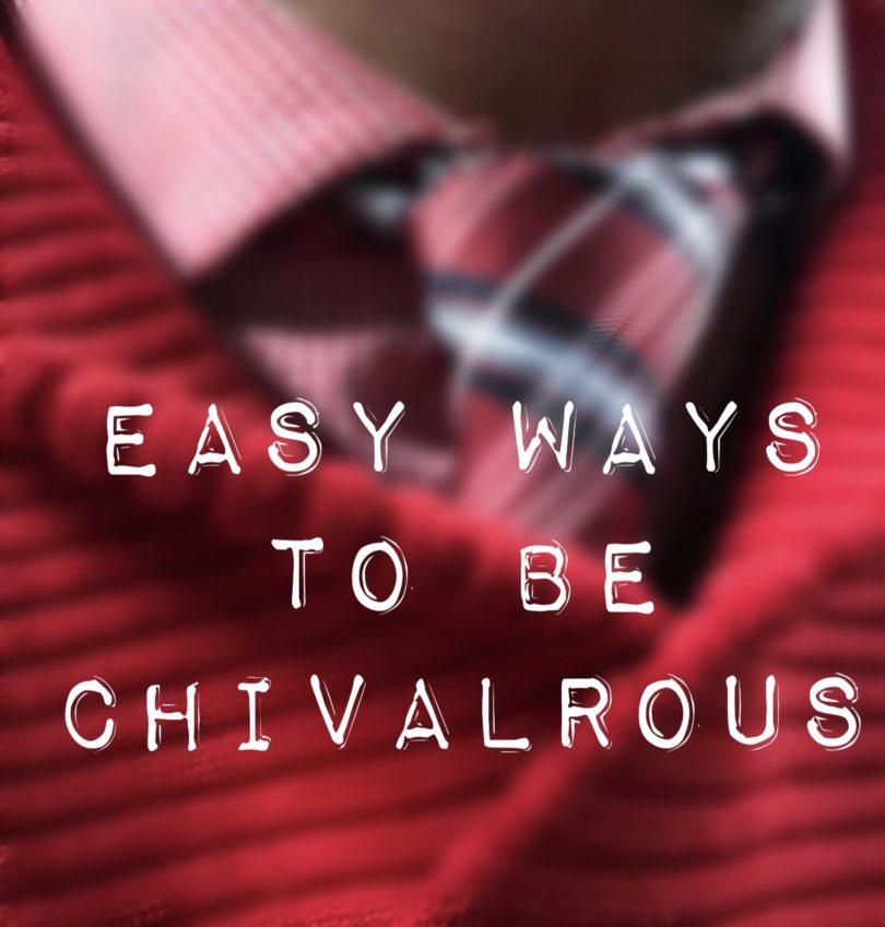 FullSizeRender 810x849 - 5 Easy Ways to be Chivalrous