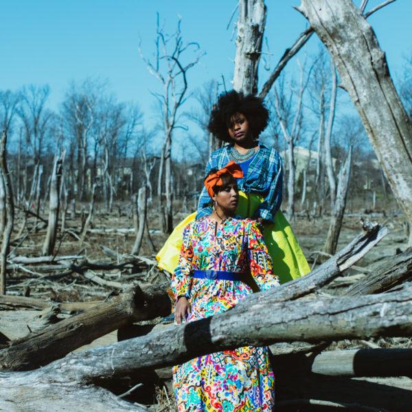 haitian sister photoshoot desert oasis top dc blogger print dress 11 600x600 - Epic Sister Magic