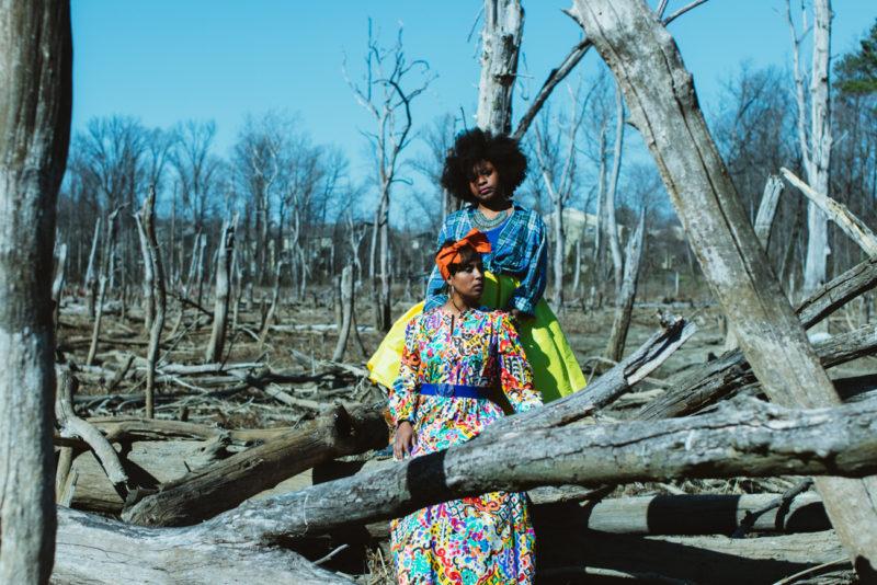 haitian sister photoshoot desert oasis top dc blogger print dress 11 800x534 - Epic Sister Magic