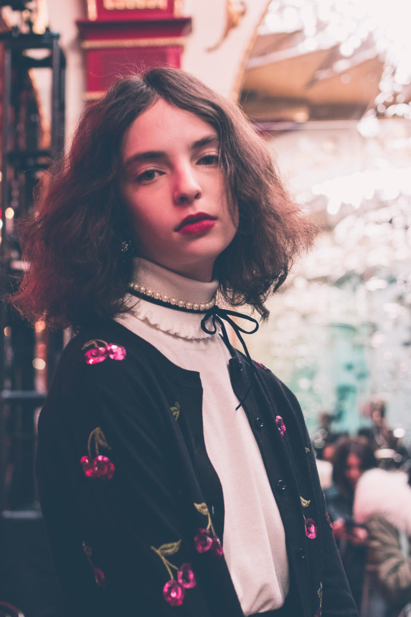 kate spade ny collection 2017 nyfw fashion week russian tea room comme coco