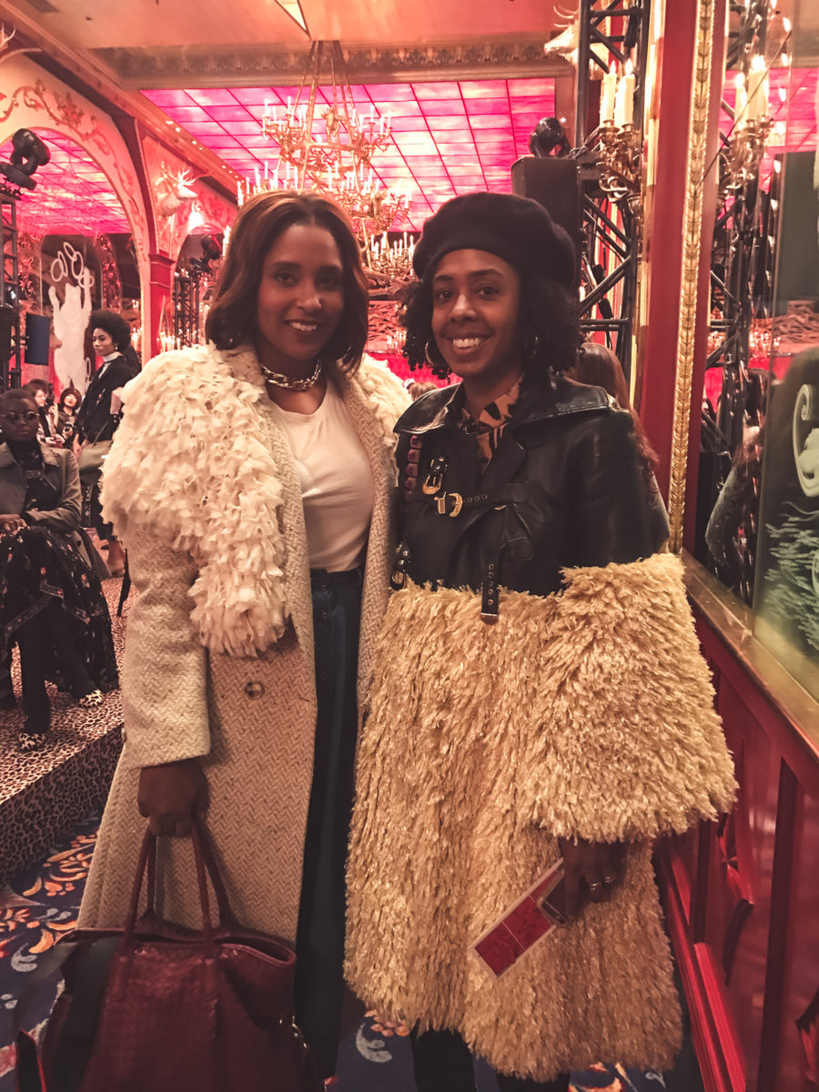 top dc blogger Jennifer of Comme Coco with beauty editor Nicole Chapoteau haitians in fashion  900x1200 - How to Support Other Bloggers and Influencers