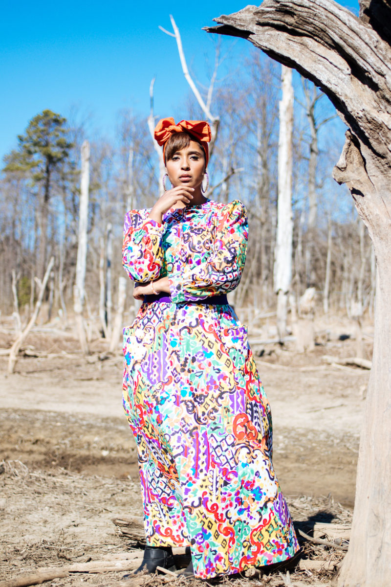 top dc blogger curvy girl in the wilderness style black girl magic 17 800x1200 - Epic Sister Magic