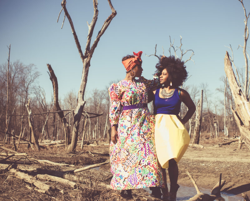 top dc blogger curvy girl in the wilderness style black girl magic 9 800x645 - Epic Sister Magic