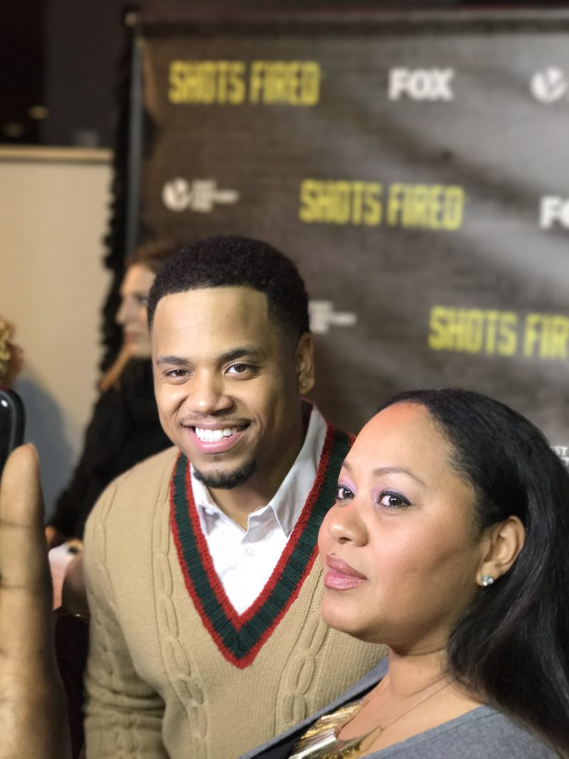 dc screening of shots fired by comme coco mack wilds