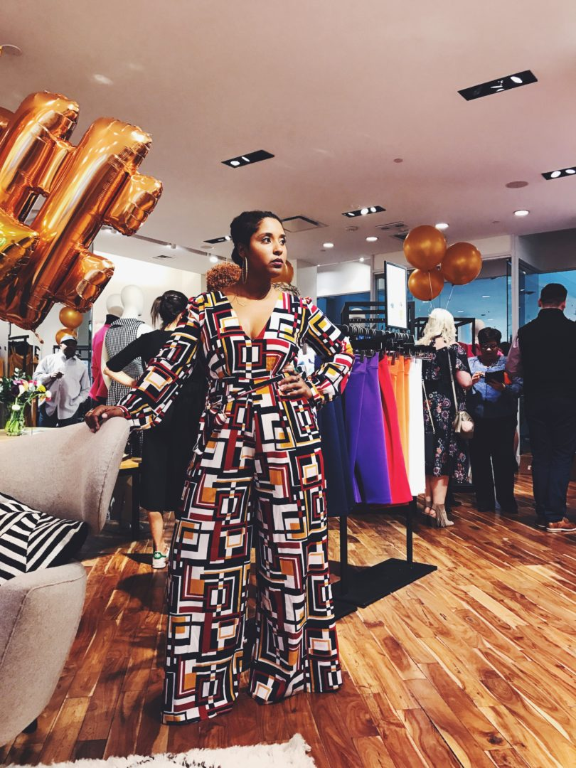 top dc blogger at the eloquii store opening