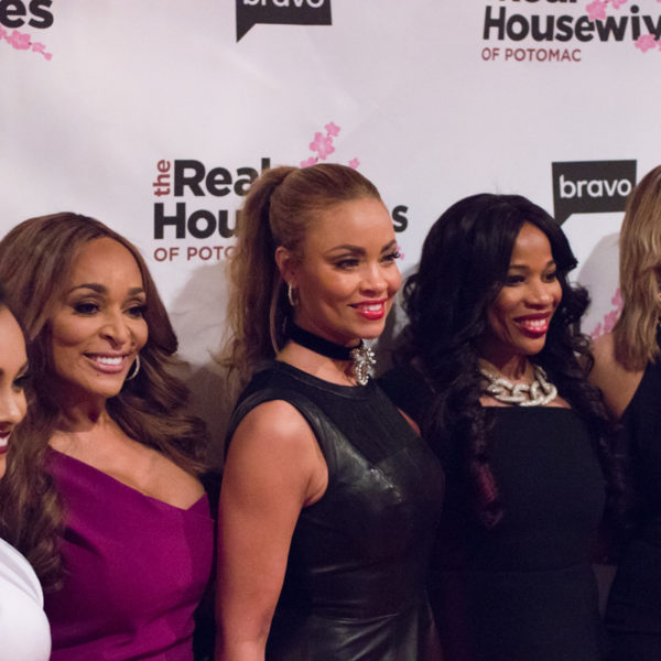 real housewives of potomac premiere party in dc at bliss nightclub 22 600x600 - Real Housewives of Potomac Season 2 Premiere Party