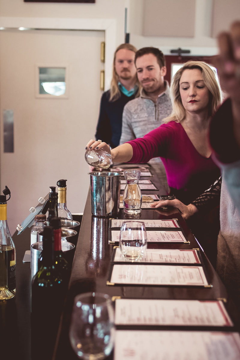 top dc bloggers at virginia winery vineyard curvy blogger winter style  2 800x1200 - Reston Limo at Virginia Vineyards