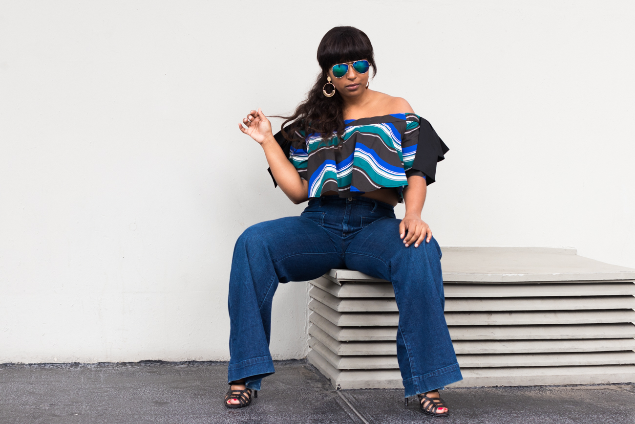top dc blogger wearing eloquii