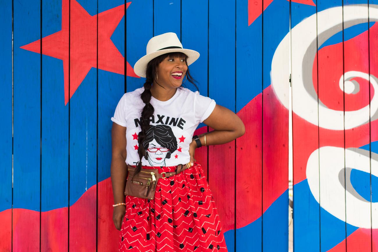 top dc blogger maxine roberts shirt