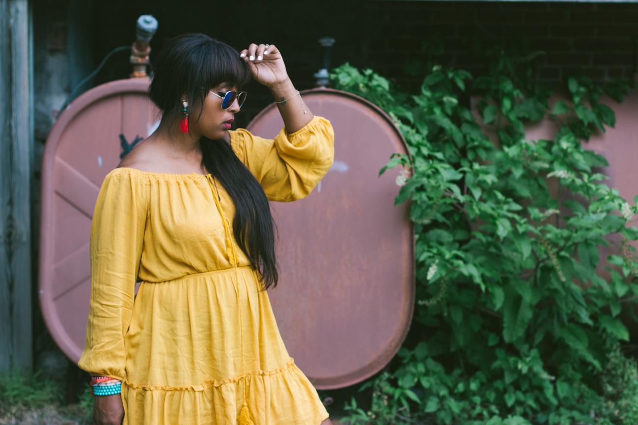 yellow summer dresses