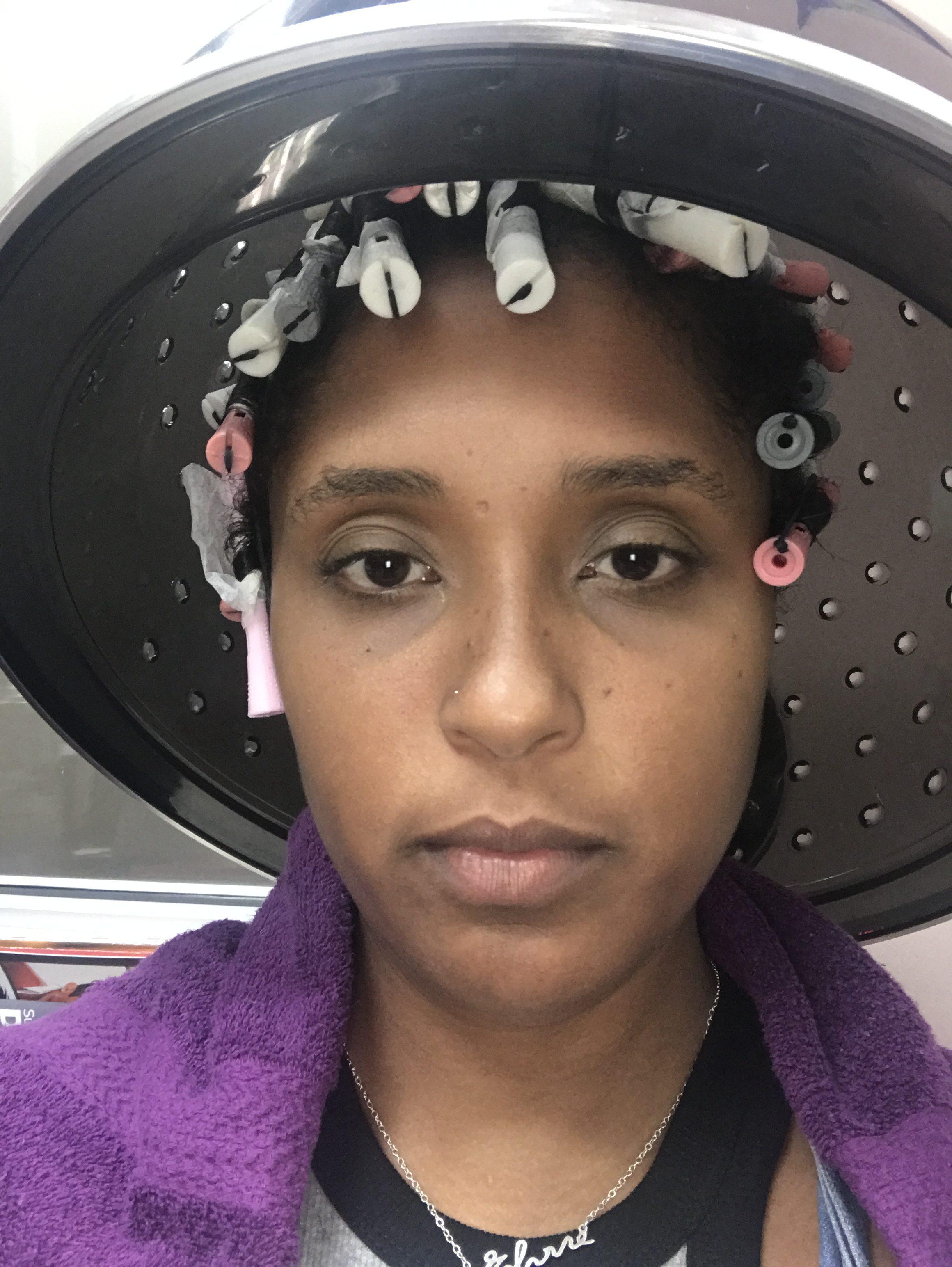 top washington dc blogger big chop natural hair