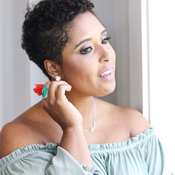 top washington dc blogger with short natural hair