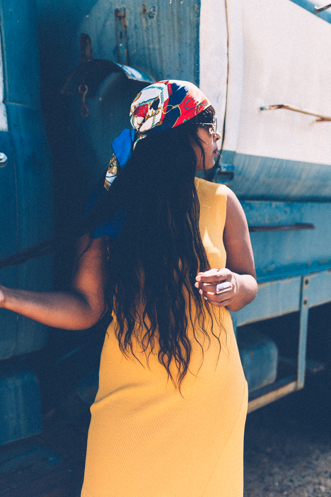 top dc fashion blogger styling yellow dress 4 - How I Pose in Pics