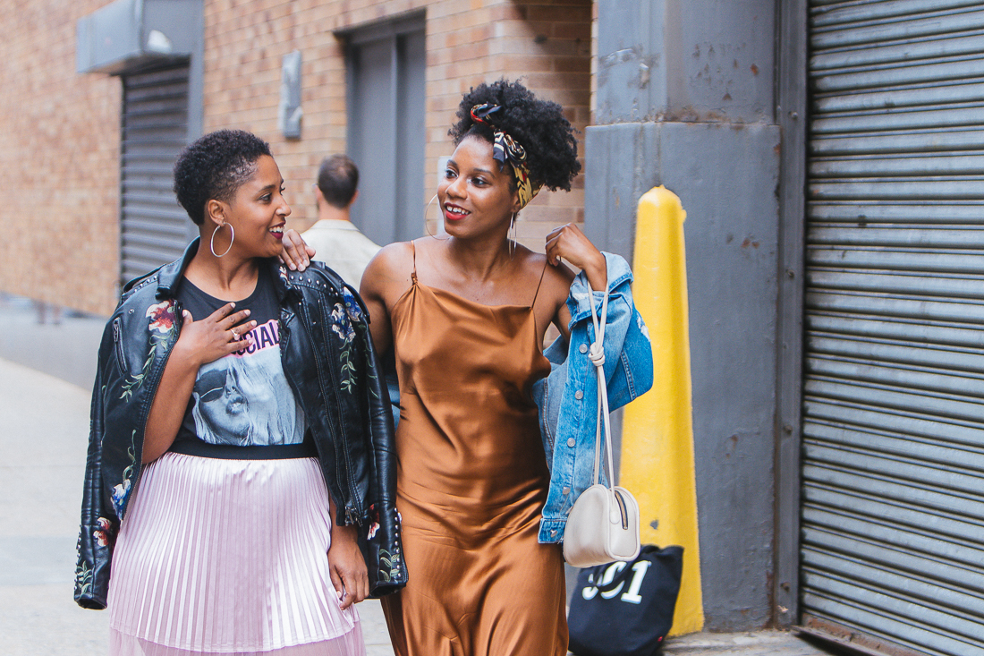 top dc style blogger at nyfw 11 - How to Support Other Bloggers and Influencers