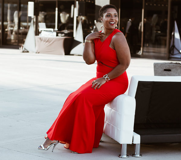 Top Washington DC blogger in rent the runway