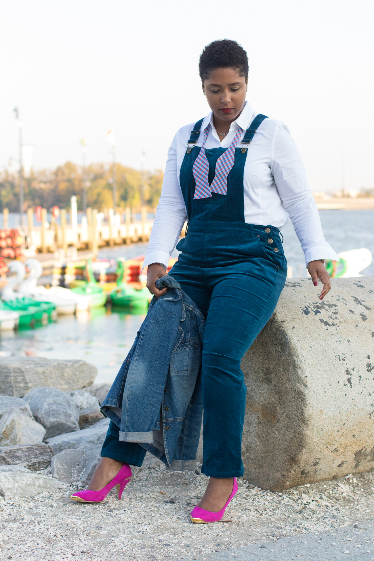 Top Washington DC style blogger wearing perfect overalls from modcloth-6