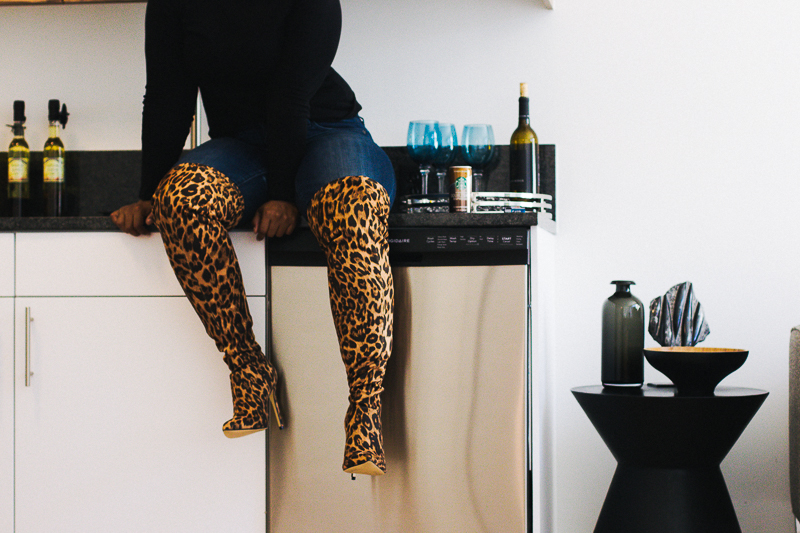 leopard print boots on top dc blogger 17 - DC's Premiere Community for Creatives, The Modern at Art Place