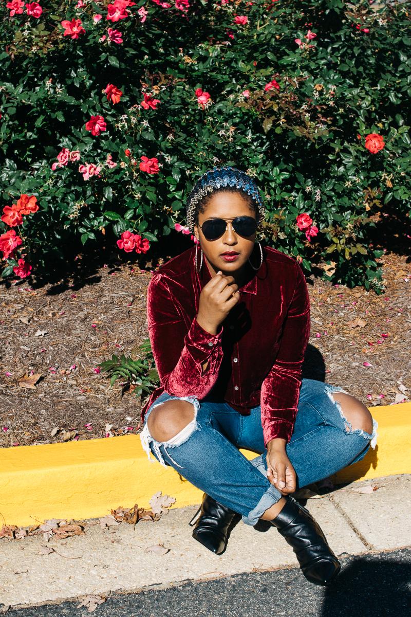 top dc blogger wearing velvet trend 3 - What is that, Velvet?