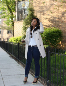 trench coat2 230x300 - Comme Coco's Fall Must Have list