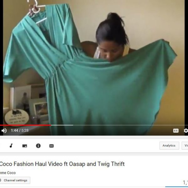 youtube 6 600x600 - Summer Fashion Haul- Thrifted Finds