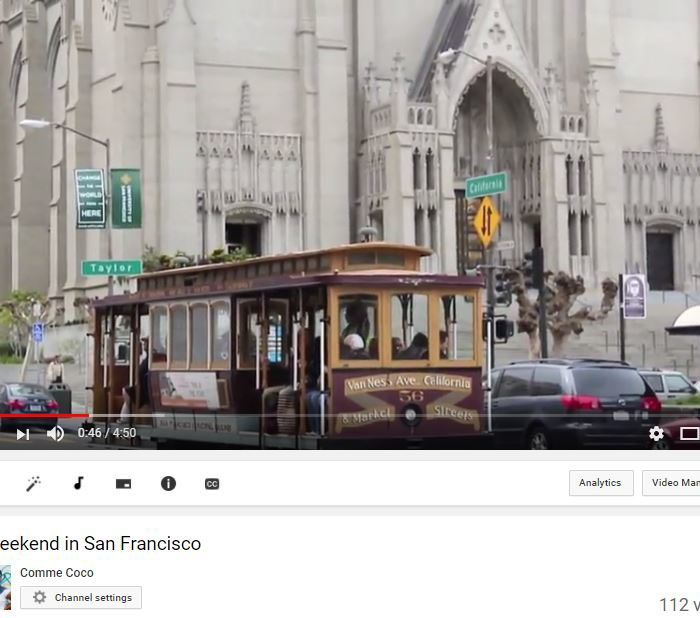 youtube 7 700x618 - A weekend in San Francisco