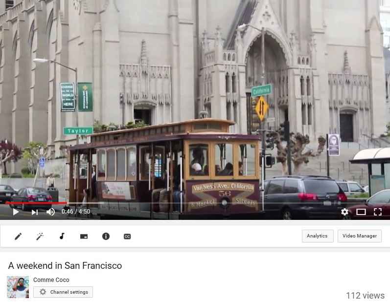 youtube 7 - A weekend in San Francisco