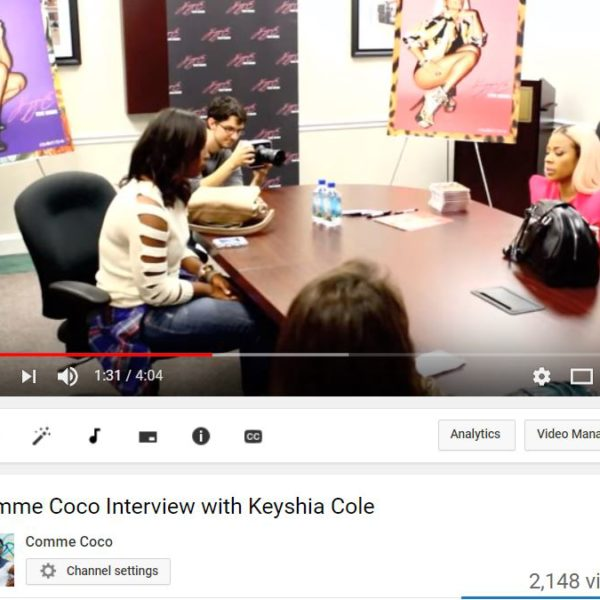 youtube4 600x600 - Comme Coco Interviews Keyshia Cole