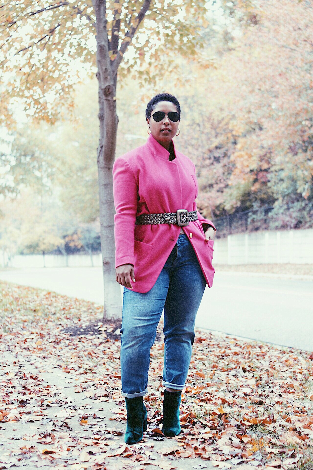 top dc fashion blogger wearing fall trends