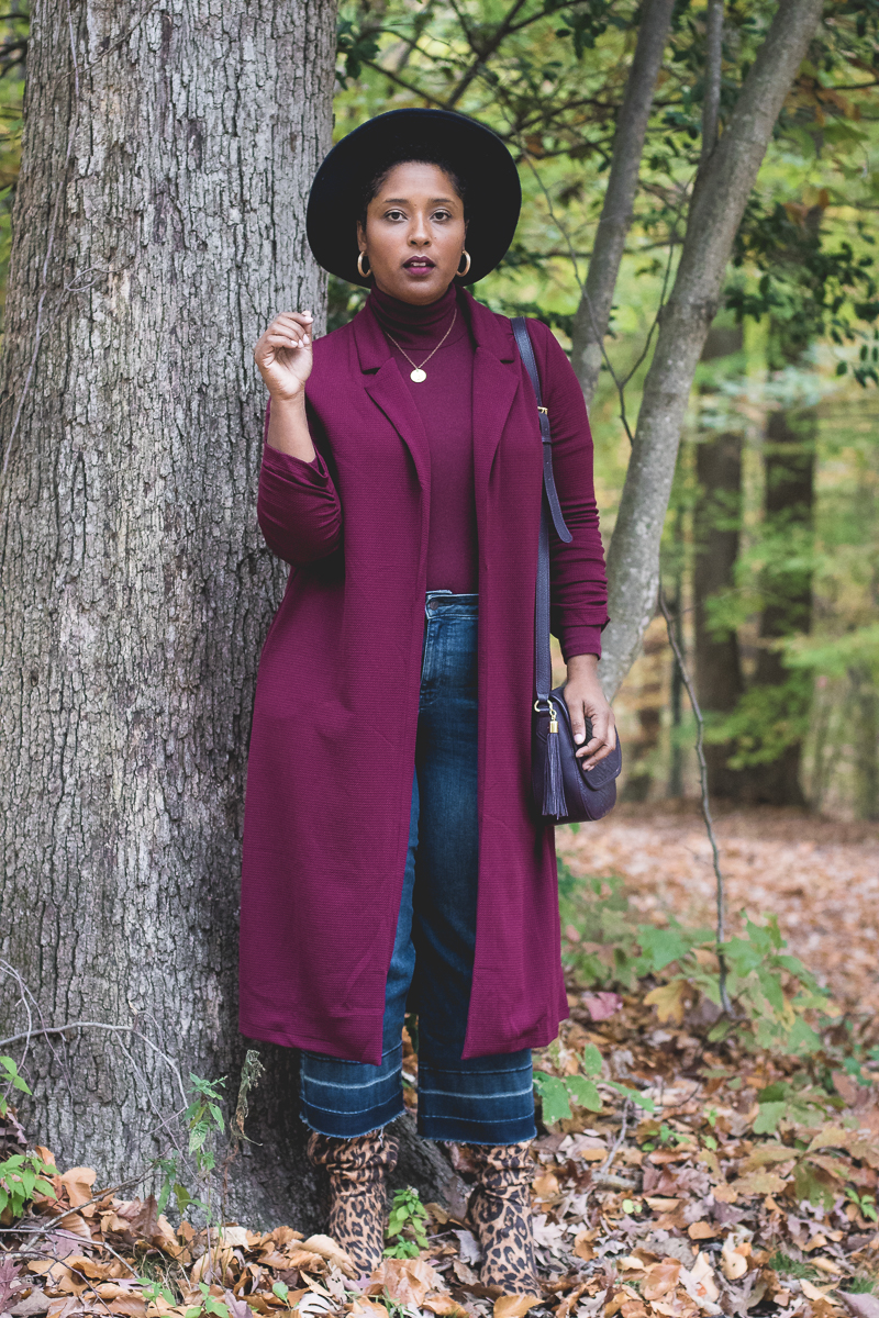 Top DC curvy style blog wearing fall trends leopard 4 - Favorite tools to make blogging easier